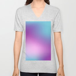 ABSTRACT GRADIENT BLURRY COLORFUL Unisex V-Neck