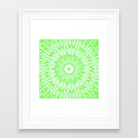 lime green Framed Art Prints featuring Lime by SimplyChic