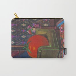 Therapy With A Tomato Milton Glaser - Tomato- Something unusual is going on here - 1978 Carry-All Pouch