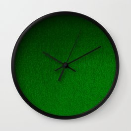 Emerald Green Ombre Design Wall Clock