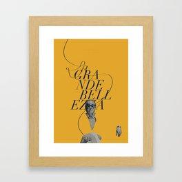 The Great Beauty / La grande bellezza Framed Art Print