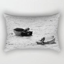 Two Boats Rectangular Pillow