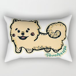 Pomerania Dog Rectangular Pillow