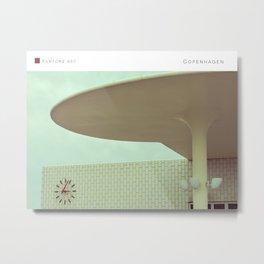 Pantone: Copenhagen Metal Print