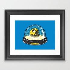 Space souvenir Framed Art Print