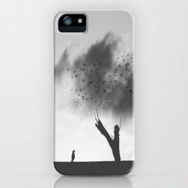 embrace the struggle iPhone Case