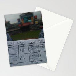 New York Mets Scorecard Stationery Cards