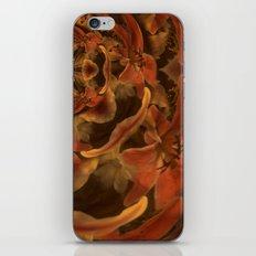 Composición floral iPhone & iPod Skin