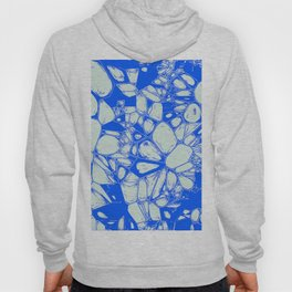 Inky Art, blue Hoody