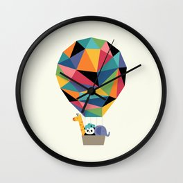Fly High Together Wall Clock