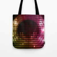 disco Tote Bags featuring Disco by frenkelvic