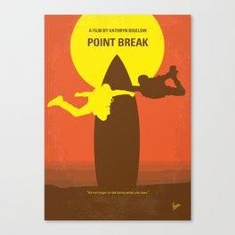 No455 My Point Break mmp Canvas Print