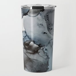 Smoke Show - Alcohol Ink Painting Travel Mug