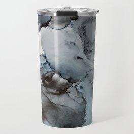 Smoke Show - Alcohol Ink Painting Travel Mug