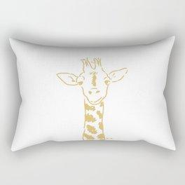 Georgia the Giraffe Rectangular Pillow