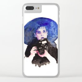Lydia Clear iPhone Case