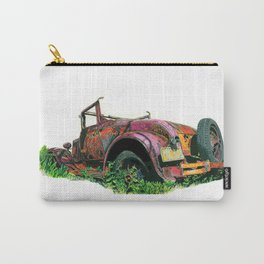 Rusty Car Carry-All Pouch