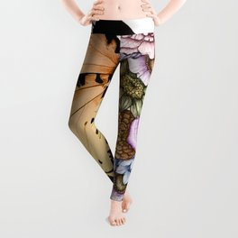 Butterfly in Bloom II Leggings