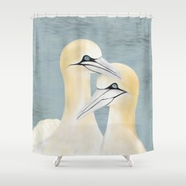Gannet Shower Curtain