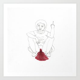 period angst Art Print