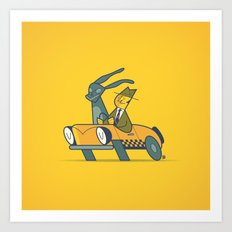Who framed Donnie Darko? Art Print