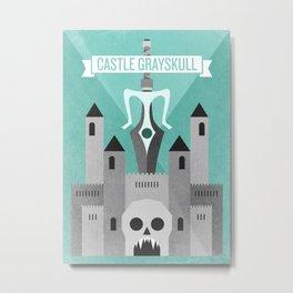 Castle Grayskull Metal Print