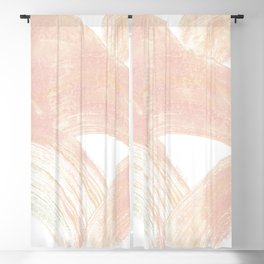 Pink Swipes Blackout Curtain