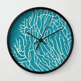 coral reef study Wall Clock