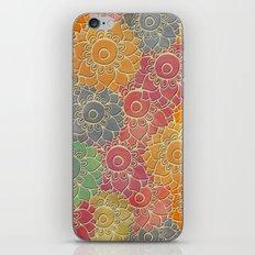Flower Pattern 2 iPhone & iPod Skin