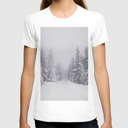 Winter walk - Landscape and Nature Photography T-shirt