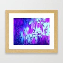 Ice Sea Smog on Signal Hill Framed Art Print