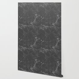 Marble Black Gray White Wallpaper