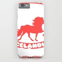 Horse Saying ICELANDIC PONY Horse Girls Gift iPhone Case
