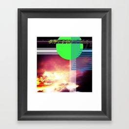 colorado sunset no. 10 Framed Art Print