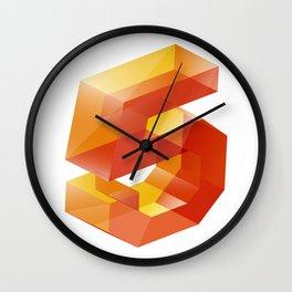 Jell-o Nº5 Wall Clock