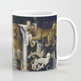 Edward Hicks - The Peaceable Kingdom  Coffee Mug