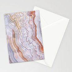 Crazy lace agate Stationery Cards