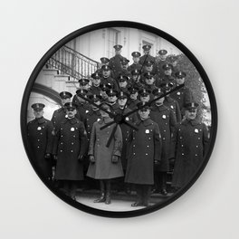 White House Police Detail - 1923 Wall Clock