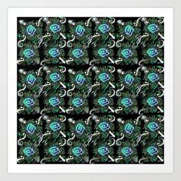 Wind 09 Art Print