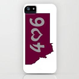 406 : Missoula, Montana iPhone Case