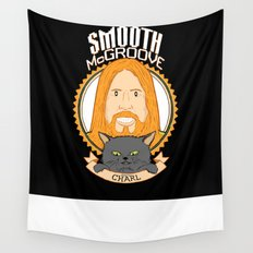 Smooth McGroove Wall Tapestry