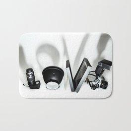 Love Photography Bath Mat