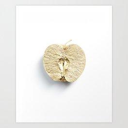 Golden Apple Art Print