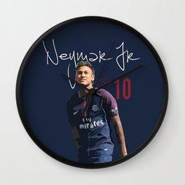 Neymar Jr PSG Wall Clock