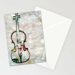 Viola Painted Stationery Cards