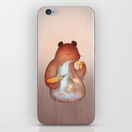 iFeel 'Salmons swim in my tummy' iPhone Skin