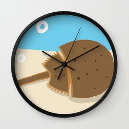 Horseshoe Crab Wall Clock