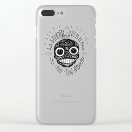 Dead is not the end Clear iPhone Case