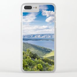 Hvar 3.8 Clear iPhone Case
