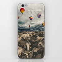 balloons iPhone & iPod Skins featuring Balloons by Mrs Araneae